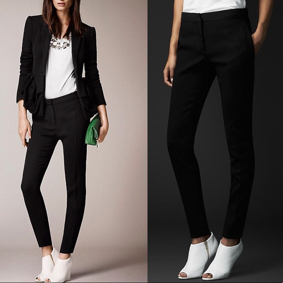 Burberry styled cotton pants